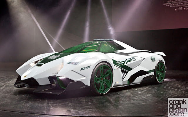 Lamborghini Egoista Is The Latest Car To Join Dubai Police Fleet