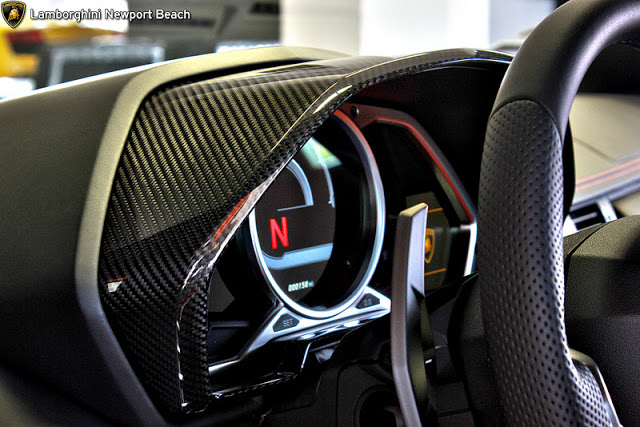 Lamborghini Newport Beach >> Lamborghini Aventador Carbon Fibre Interior Trim Kit is ...