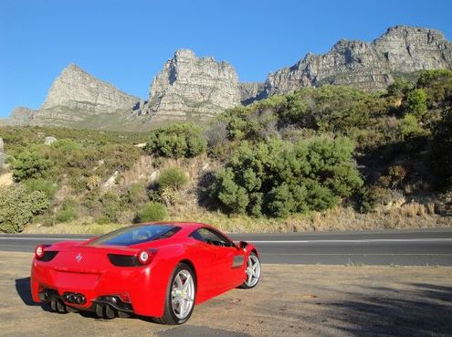 Supercar Hire In South Africa