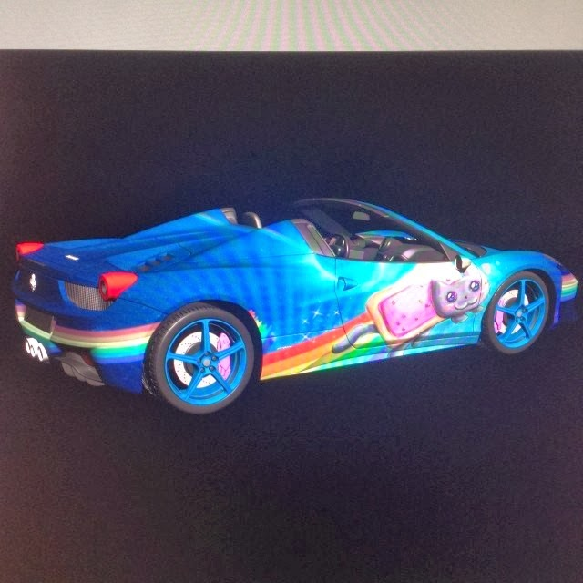 Is Deadmau5 Going To Wrap His Ferrari 458 Spider In Nyan