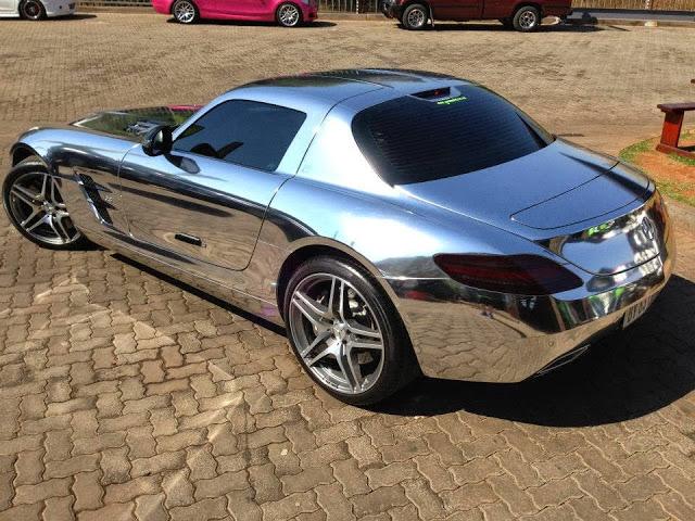 Full Chrome Mercedes Benz Sls Amg In South Africa