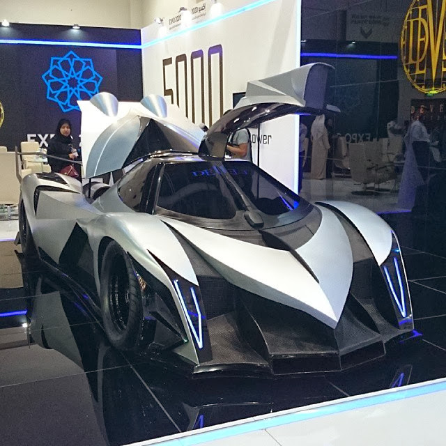 Hp Devel Sixteen >> Devel Sixteen Unveiled at Dubai Motor Show Claim 5000 HP and 560km/h Top Speed