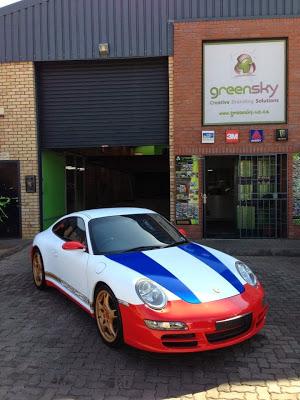 South African Porsche Fan Wraps His Car In Magnus Walker