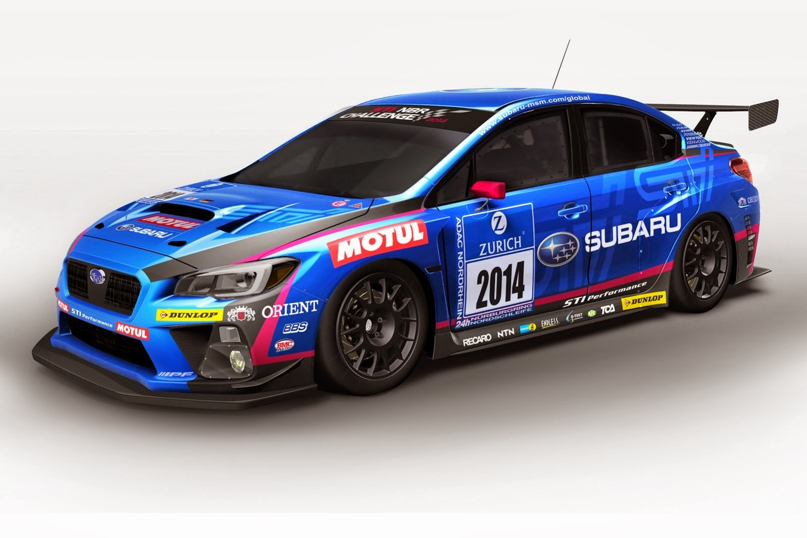 Limo For Sale >> Subaru Reveals Their WRX STI Nurburgring Racer