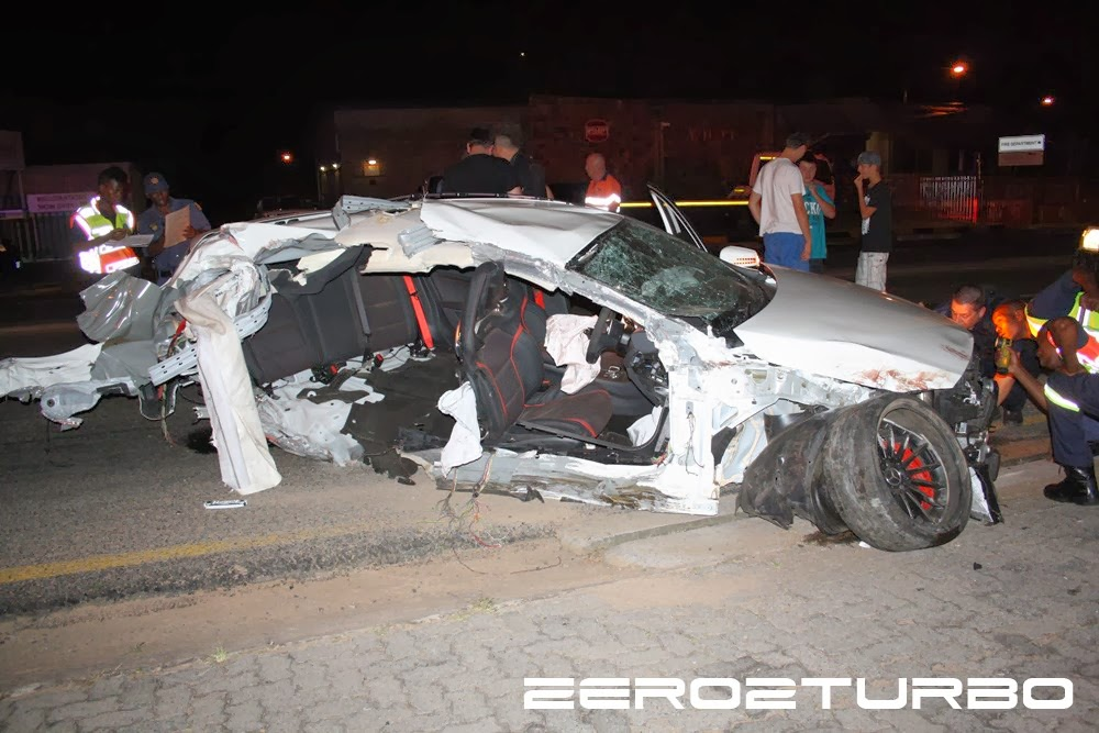 Horrific Mercedes A45 Amg Crash In Nelspruit South Africa