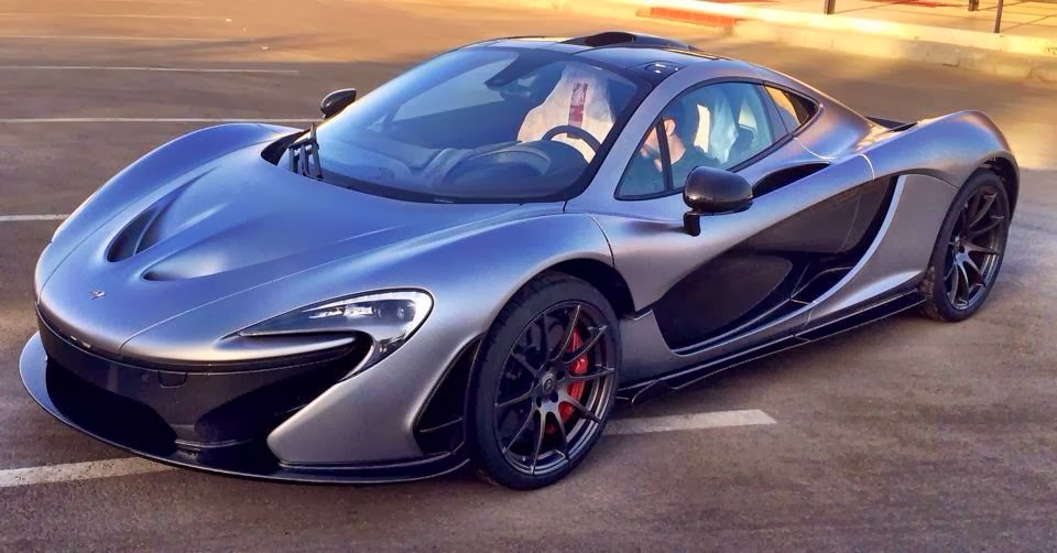 Bugatti Chiron For Sale >> Photo: Matte Grey McLaren P1 Could Be Team Galag's New ...