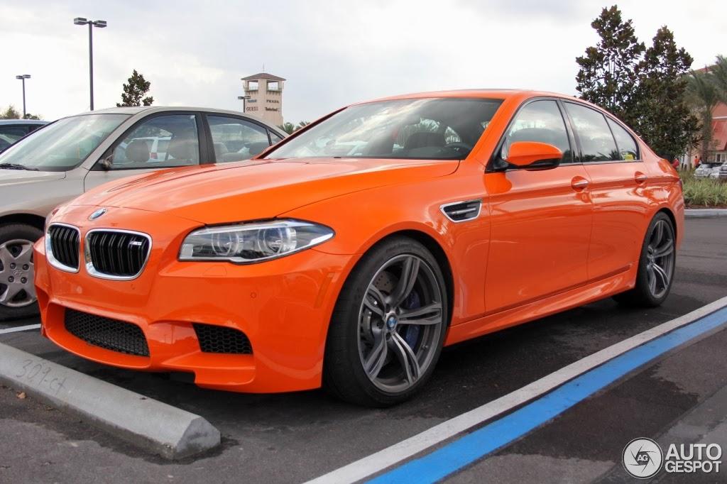 BMW Of Orlando >> Dutch Orange BMW M5 Looks Damn Cool