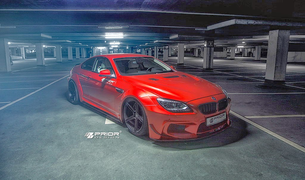 300 Hp Cars >> Prior Design Widebody Kit For BMW 6-Series Is Epic