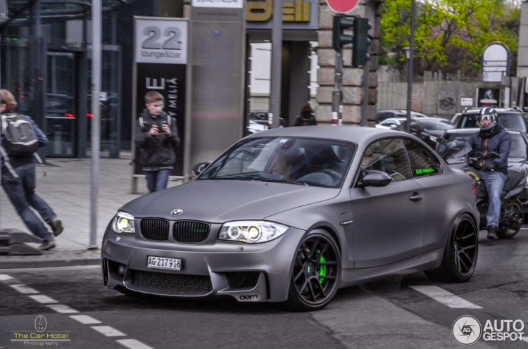 Matte Grey Bmw 1m Coupe Looks Awesome