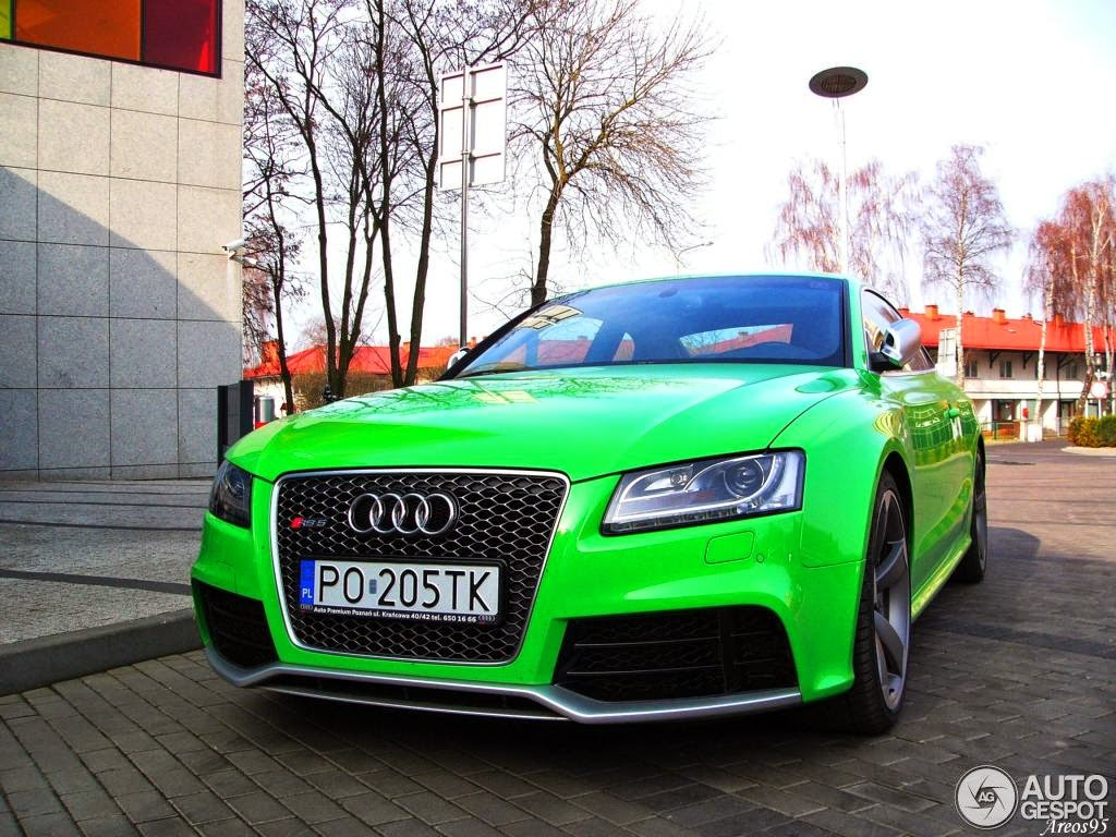 Limo For Sale >> Bright Green Audi RS5 Stands Out