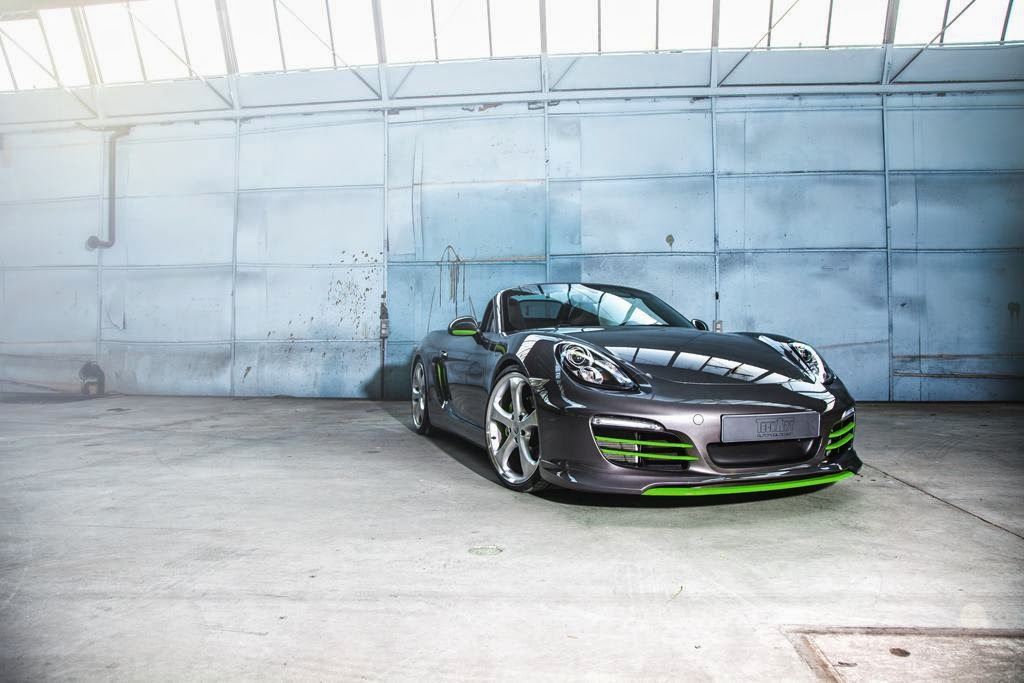 Porsche Boxster Gets Techart Kit With Lime Green Accents