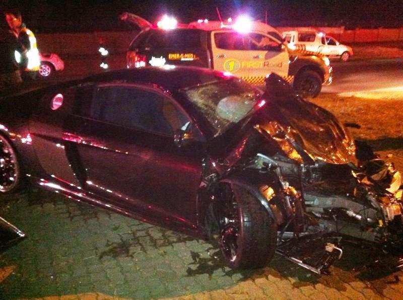 Hennessey Venom Gt For Sale >> Audi R8 GT T-Boned Evoque In Johannesburg South Africa