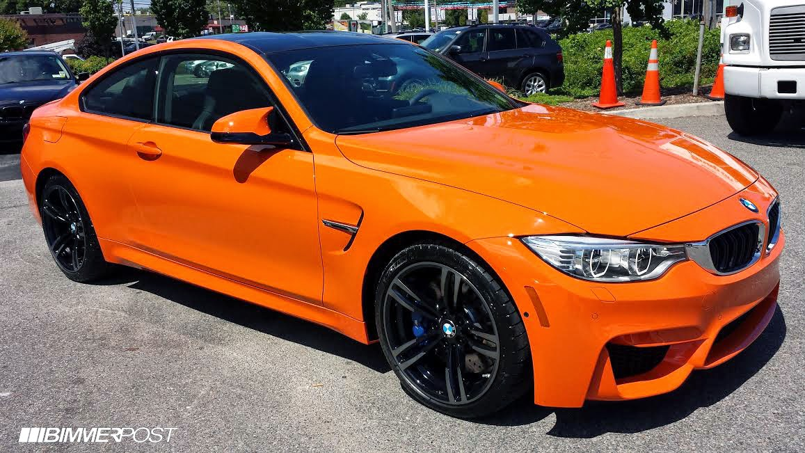 BMW M4 Gts For Sale >> First BMW M4 In Fire Orange Looks Brilliant