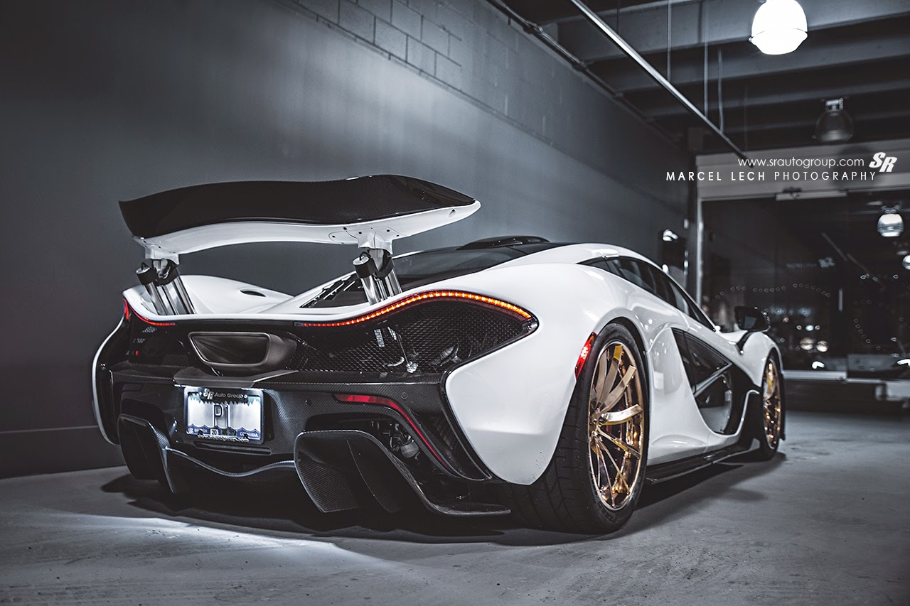 Mclaren P1 Gets Custom Gold Pur Wheels