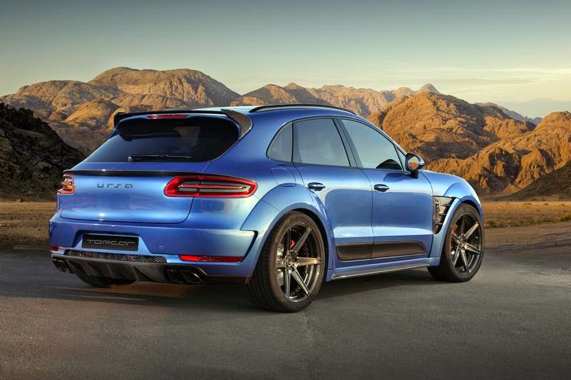 Porsche Macan Urus By Topcar Looking Angry
