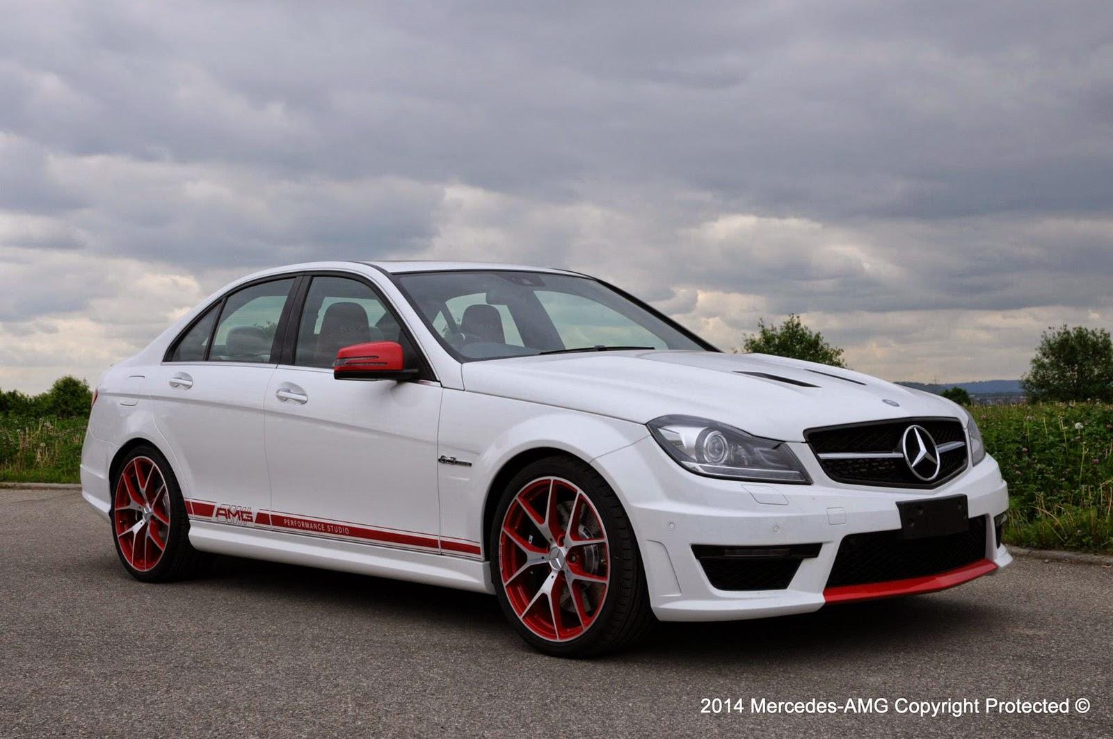 Mercedes Amg Performance Studio Create Unique C63 Amg
