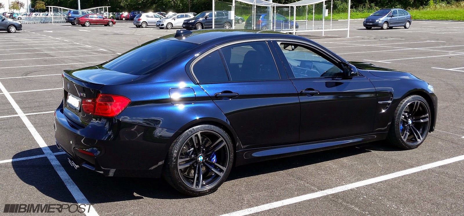 BMW M3 Finished In Individual Azurite Black Looks Slick