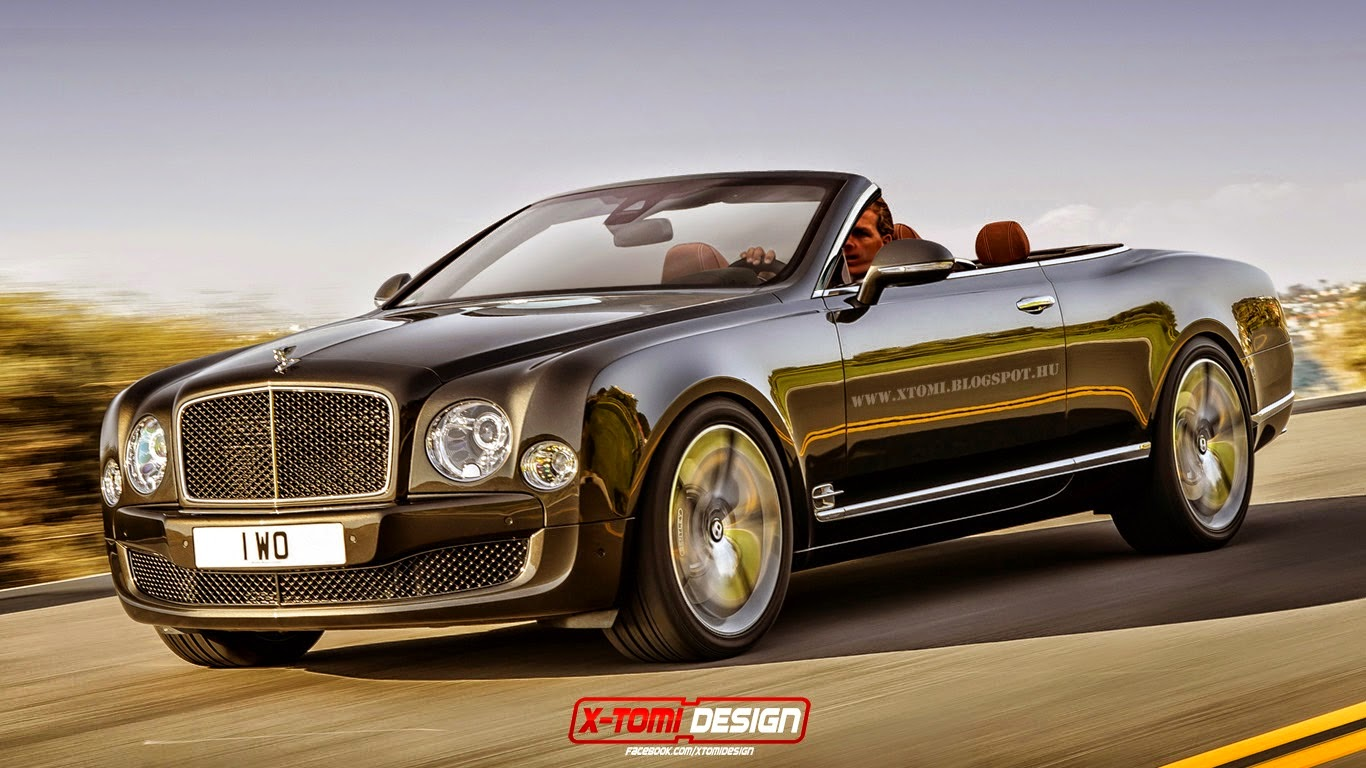 Bentley Mulsanne Speed Imagined With No Roof