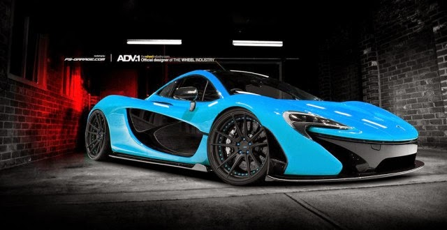 Deadmau5 S Mclaren P1 To Be Bright Blue