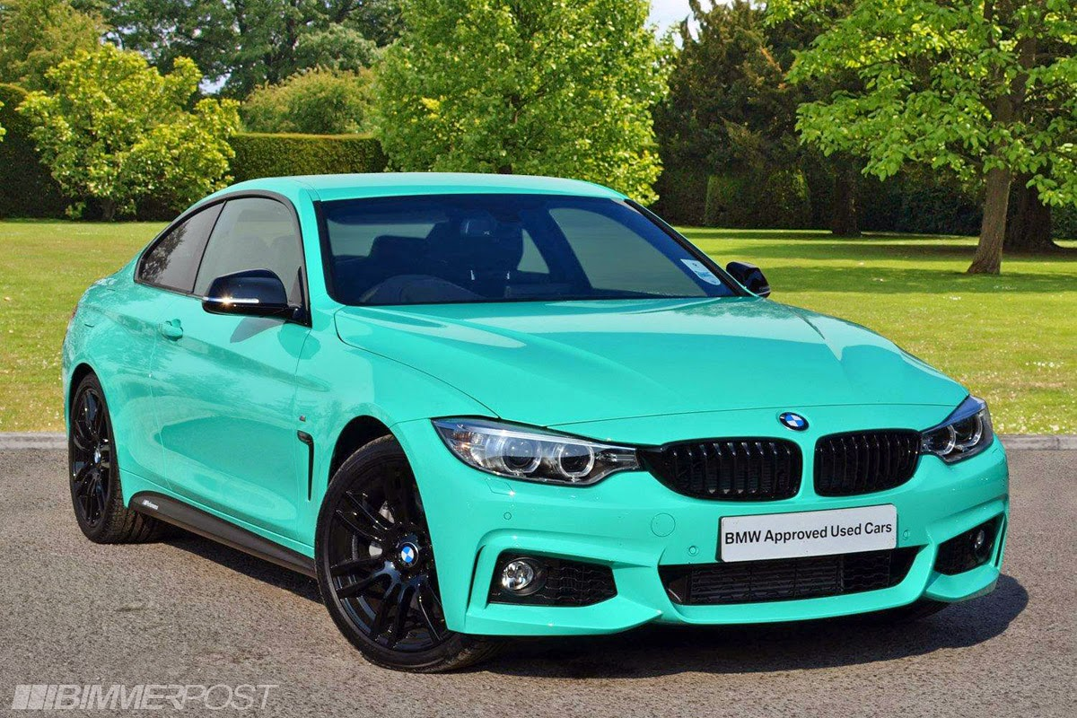 Very Individual Bmw 435i In Mint Green