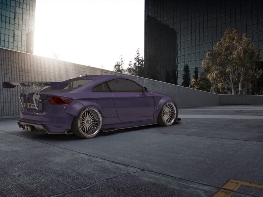 New Audi Tt Envisioned With Rocket Bunny Aero Kit