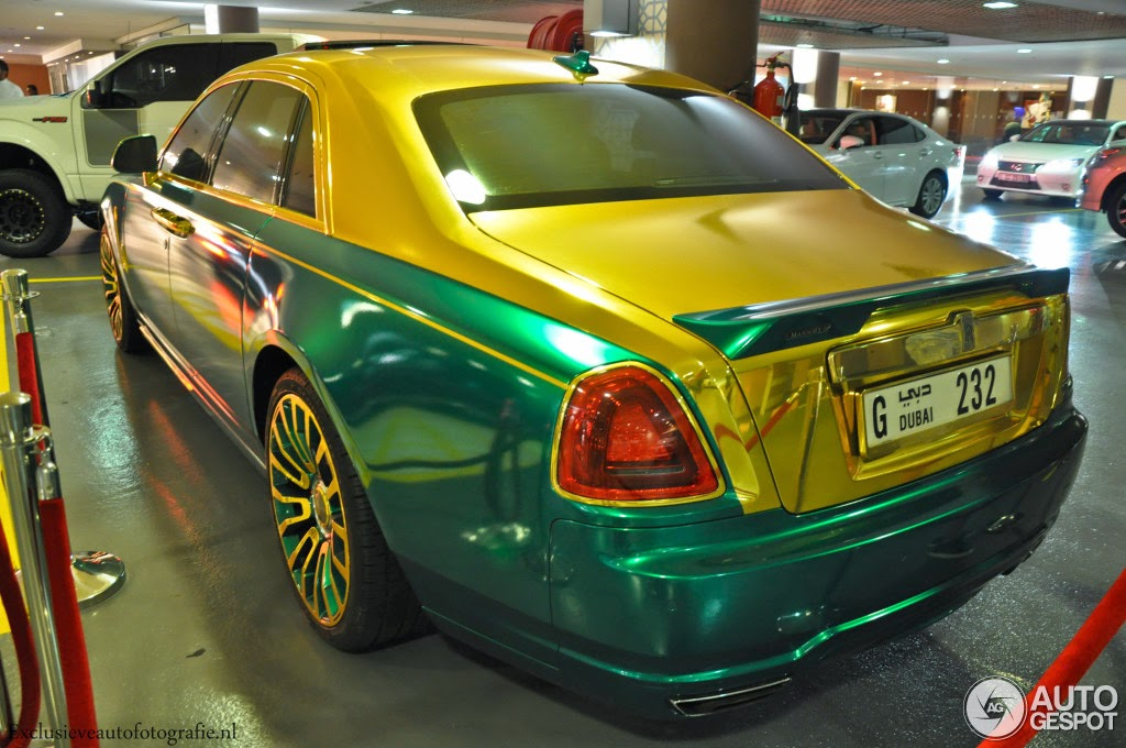 Rolls Royce Mansory White Ghost Gets Overkill Paint Job In