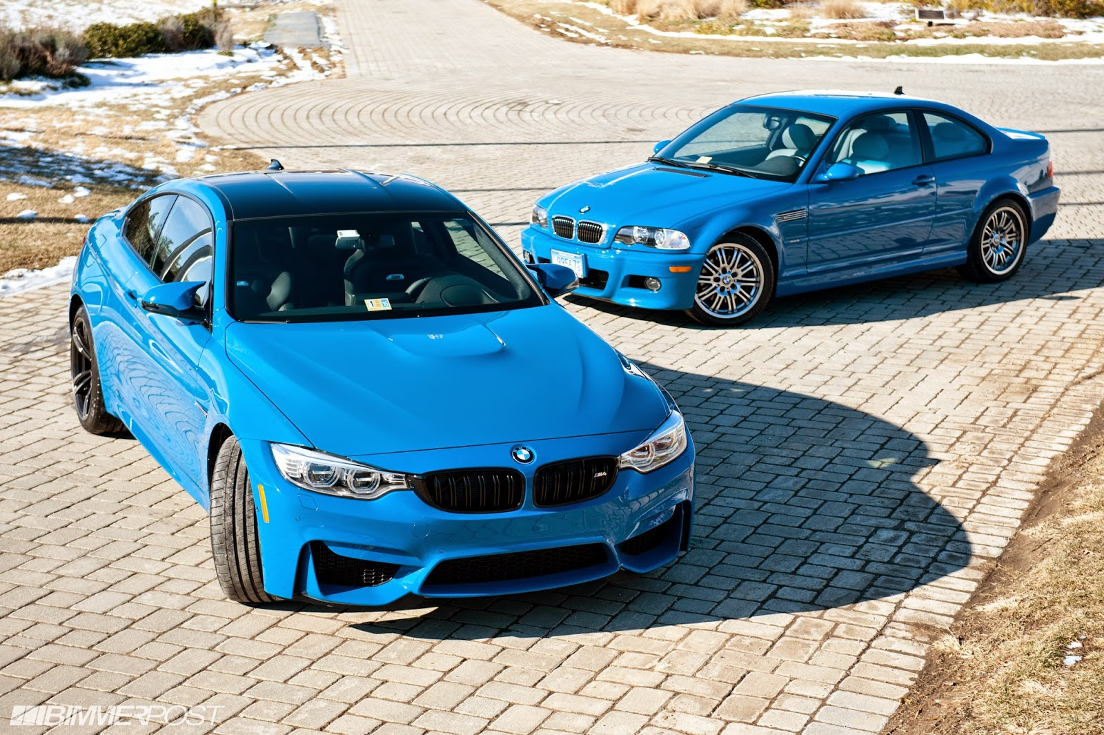 Owner Gets Laguna Seca Blue Bmw M4 To Match His E46 M3