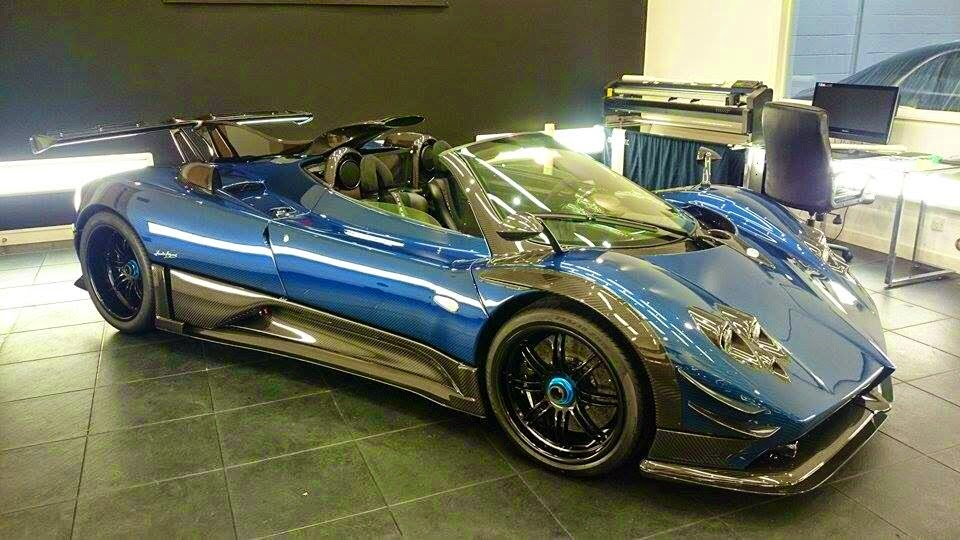 The Worlds First Pagani Zonda 760 Roadster Has A Manual