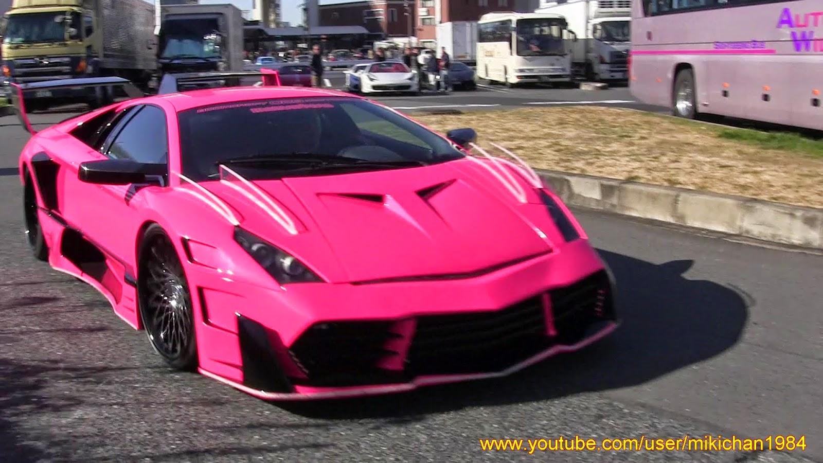 This Pink Lamborghini Veneno Wannabe Was A Real Murcielago