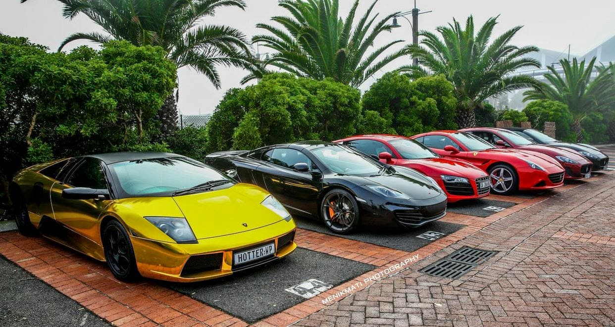Last Lion Super Car Run From Cape Town To Hermanus