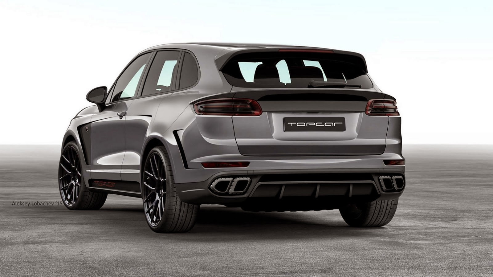 topcar create unique porsche cayenne using 911 and macan. Black Bedroom Furniture Sets. Home Design Ideas