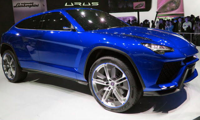 2017 Toyota Supra >> Lamborghini Urus SUV Will Be Their First Model In Their Hybrid Future