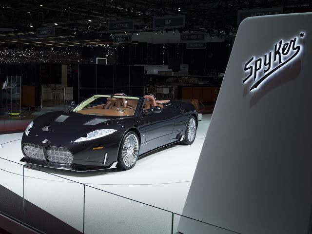 New Spyker C8 Preliator Spyder Fitted With Koenigsegg Engine