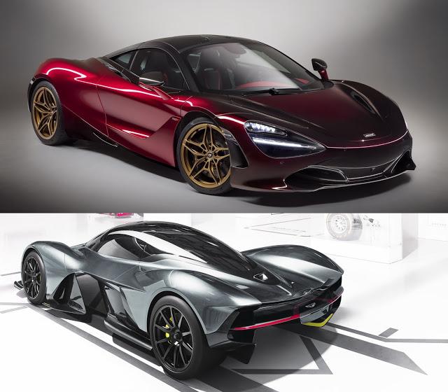 Aston Martin Valkyrie Rear: Aston Martin Valkyrie Should Generate A McLaren 720S Rival