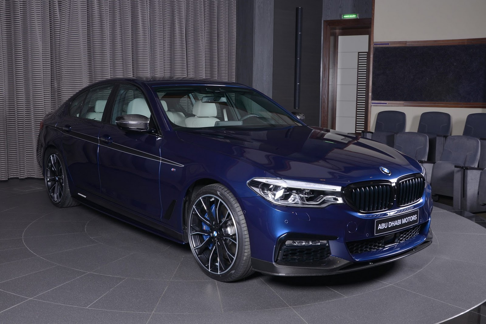 mediterranean blue bmw 540i loaded with m performance bits. Black Bedroom Furniture Sets. Home Design Ideas