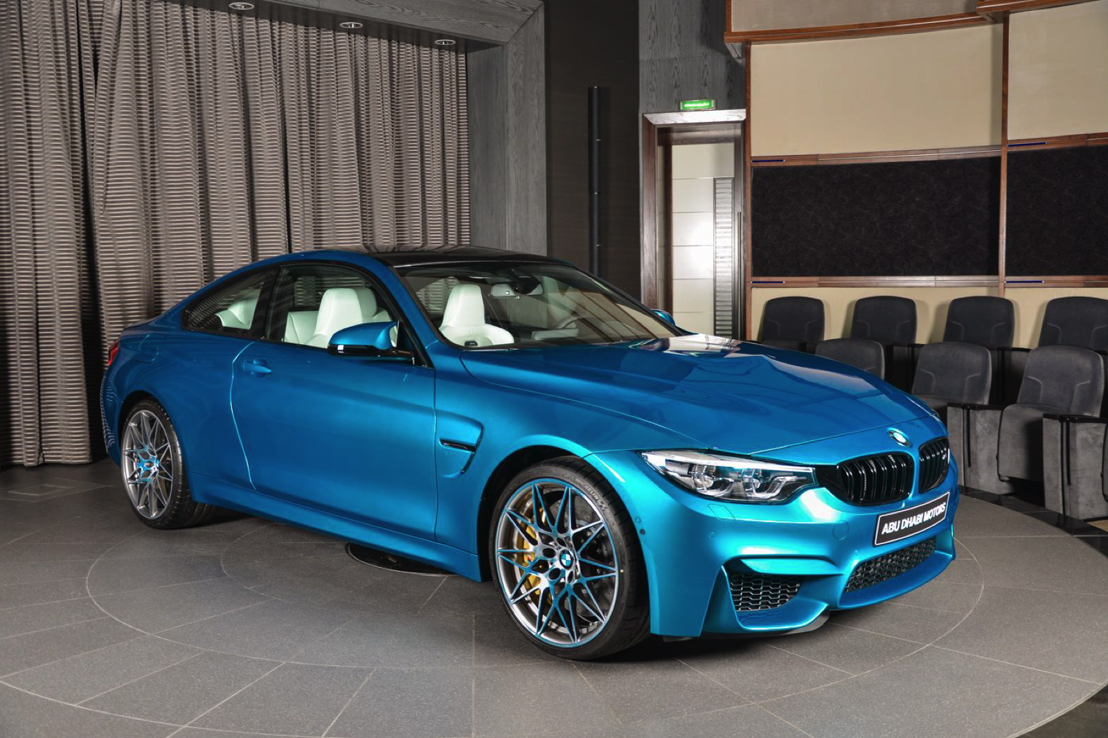 Bmw M3 F80 >> Individual Atlantis Blue BMW M4 Competition Package Is A Winner