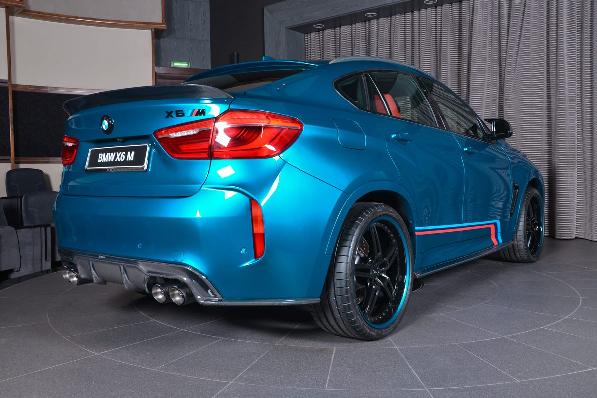 This Bmw X6m Looks Menacing Thanks To Host Of Styling Parts