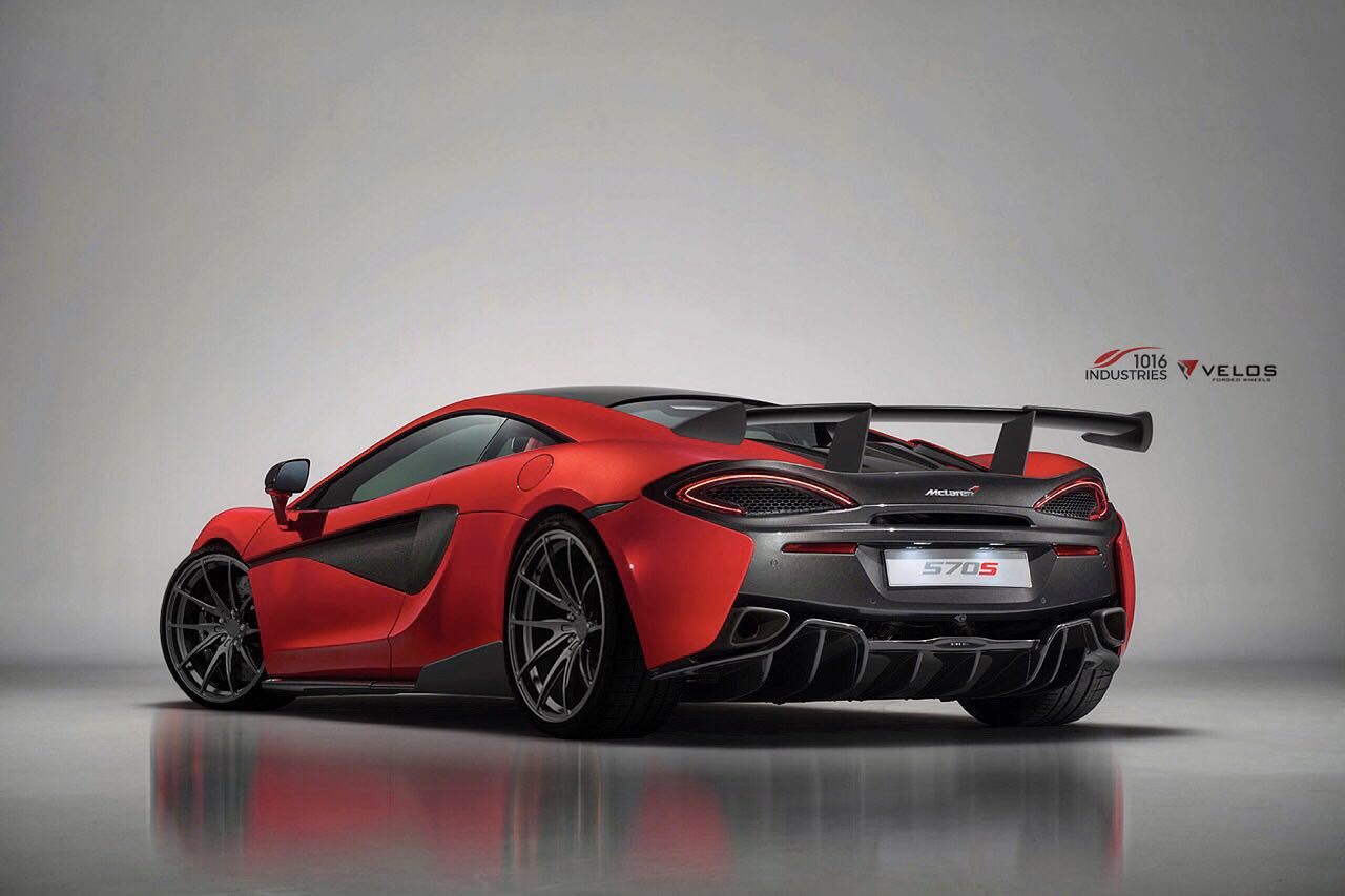 Mclaren 570s Gets 1016 Industries Makeover