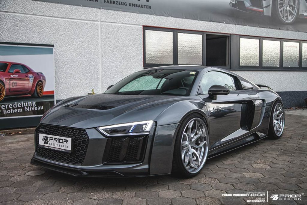 prior design widen the audi r8 v10. Black Bedroom Furniture Sets. Home Design Ideas