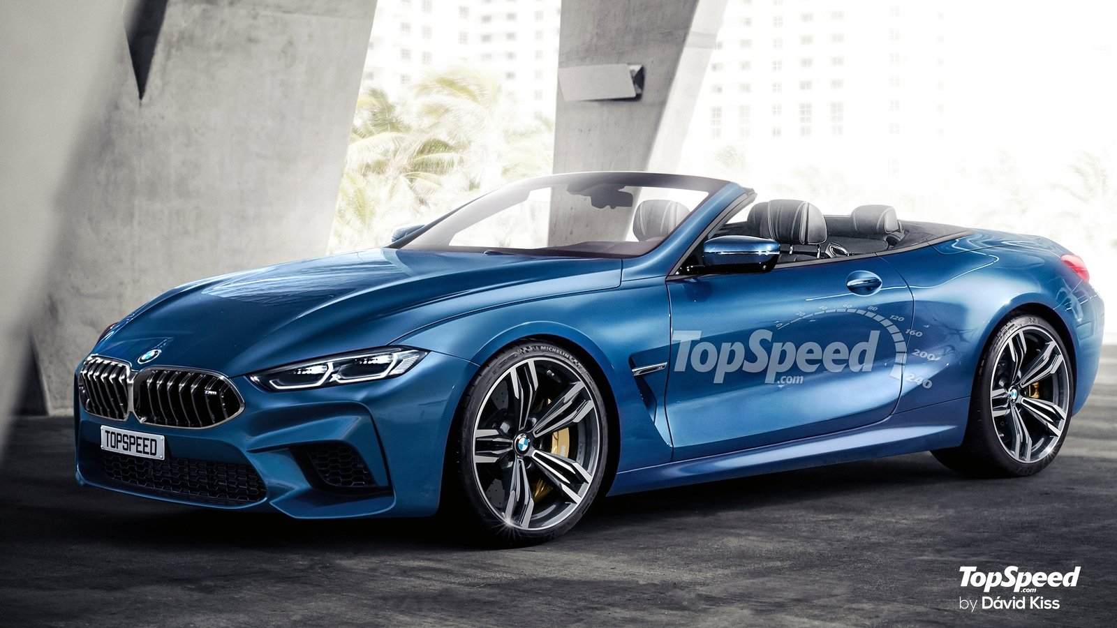Bmw M8 Convertible Rendered