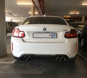 white bmw m2 south africa