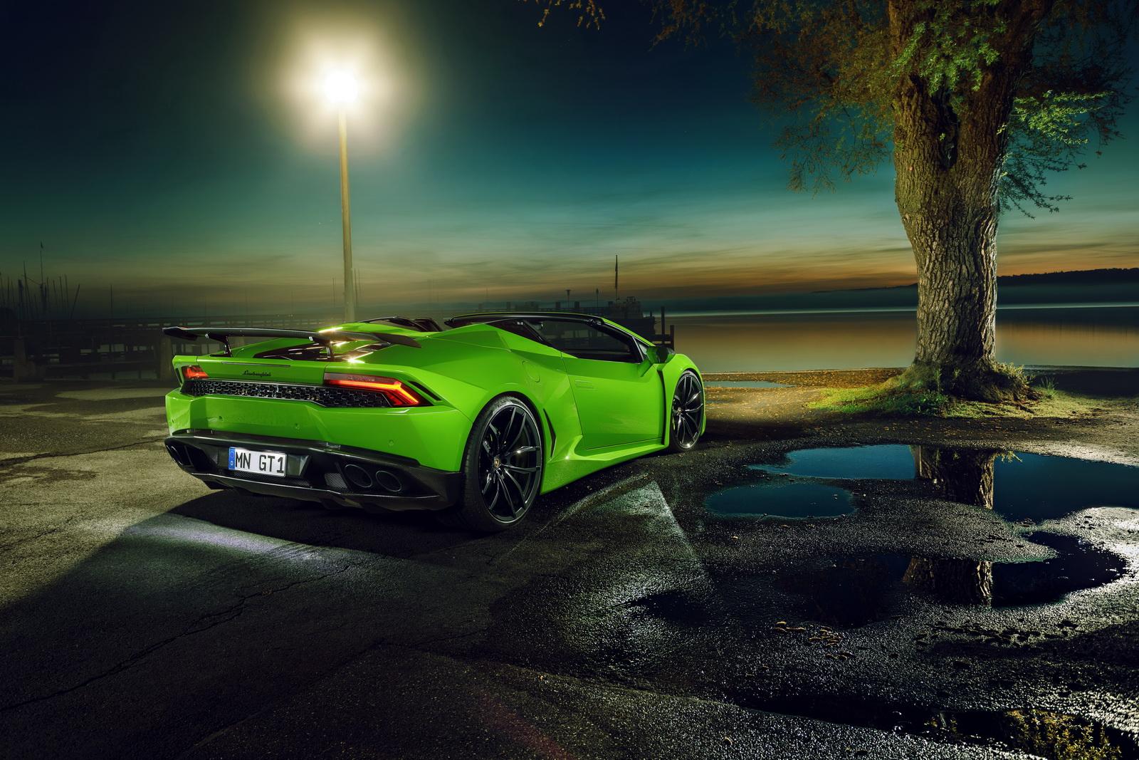 Lamborghini Huracan Spyder Gets The Novitec N-LARGO Treatment