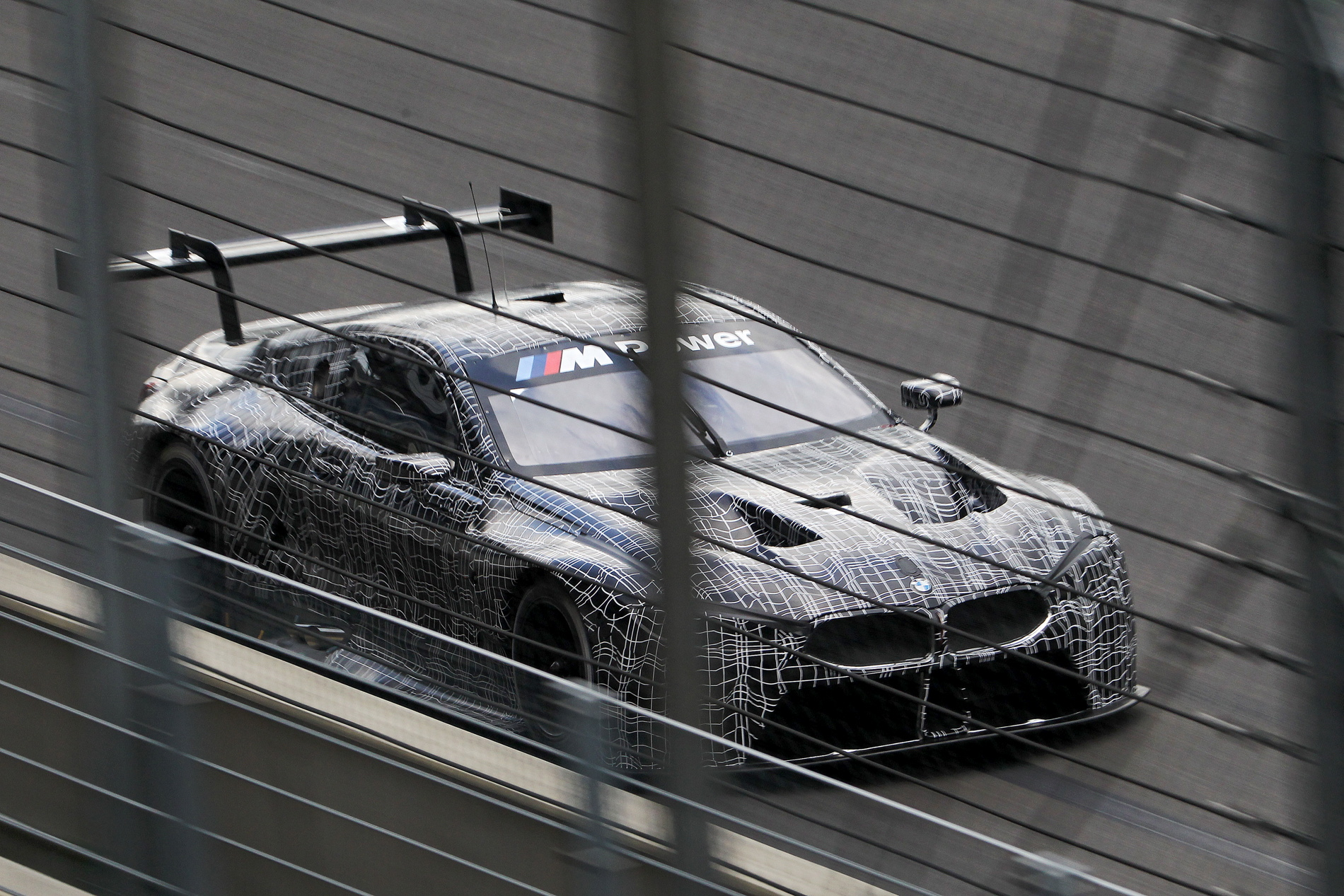 Mean BMW M8 GTE Hits The Track