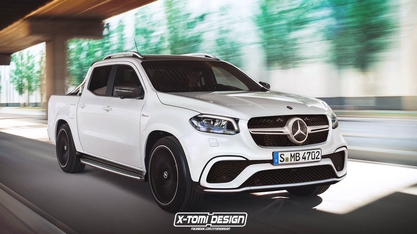 Mercedes Amg X63 Pickup Not 100 Dead And Buried