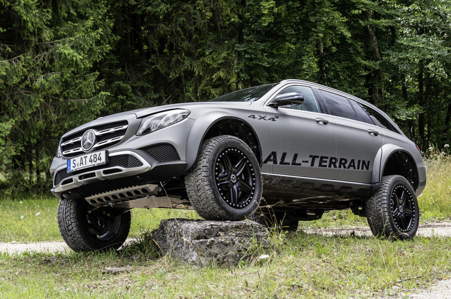 One off mercedes e class all terrain 4x4 created for Mercedes benz e3 50