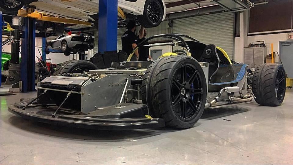 Heffner Performance Working On Twin Turbo Lambo Gallardo