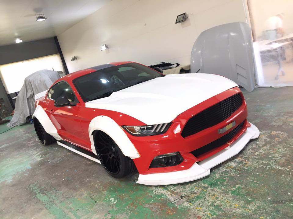 Ford Shelby F150 >> Liberty Walk Share Ford Mustang Widebody Build