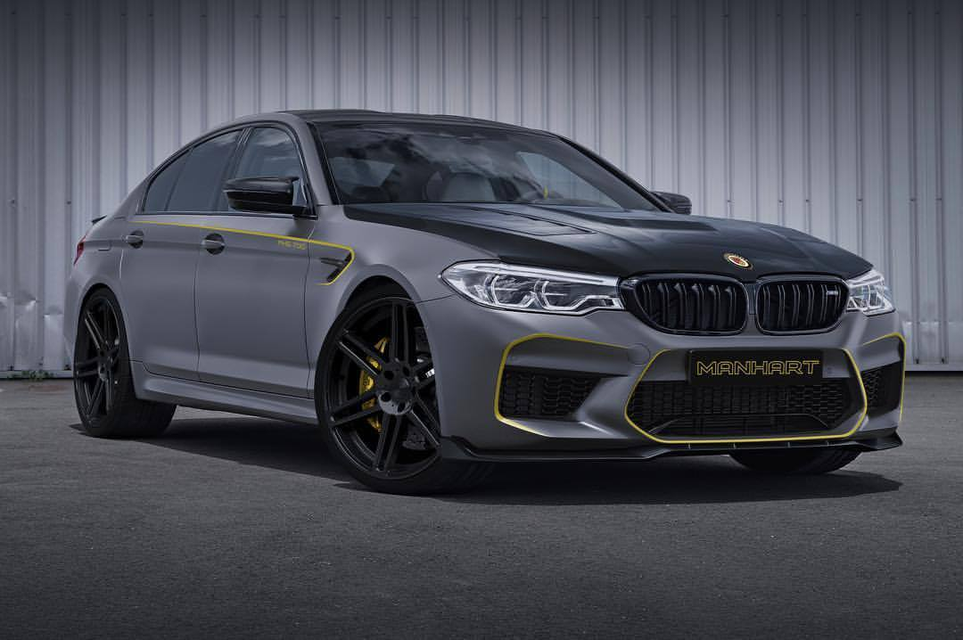 Manhart Performance Tease Us With Bmw M5 Mh5 700 Concept