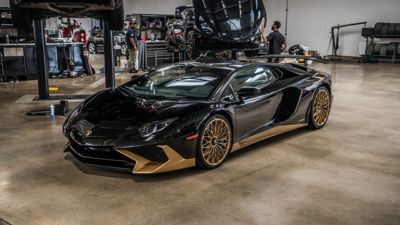 The Stitching Inside Matches The Gold On The Exterior And It Is Safe To Say  The Team At Ad Personam Went Above And Beyond To Make This Supercar One Of  The ...