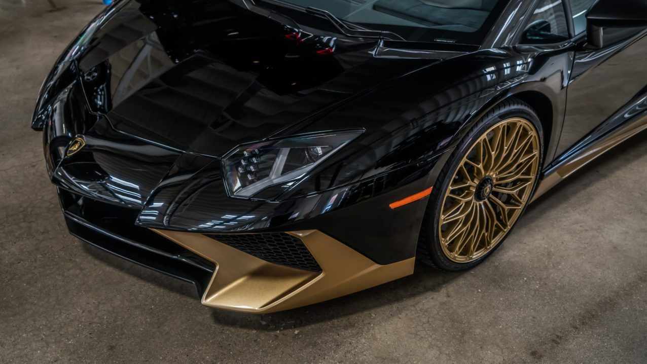 The Stitching Inside Matches Gold On Exterior And It Is Safe To Say Team At Ad Personam Went Above Beyond Make This Supercar One Of